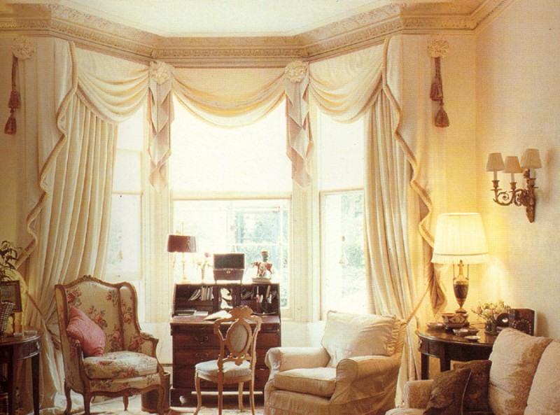 Образцы штор для гостиной фото